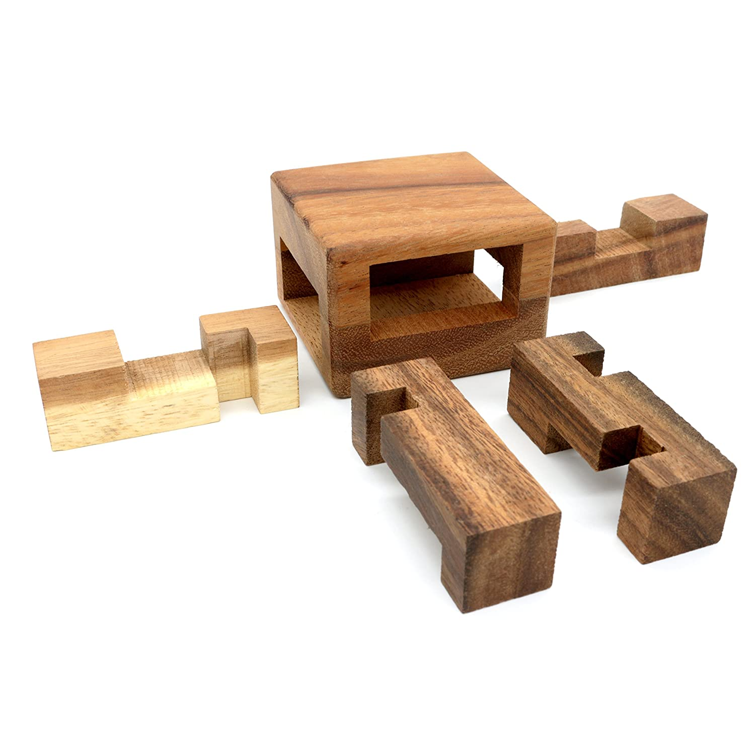The Magic Drawers Wooden Puzzles for Adults 3D Brain Teasers Bsiri