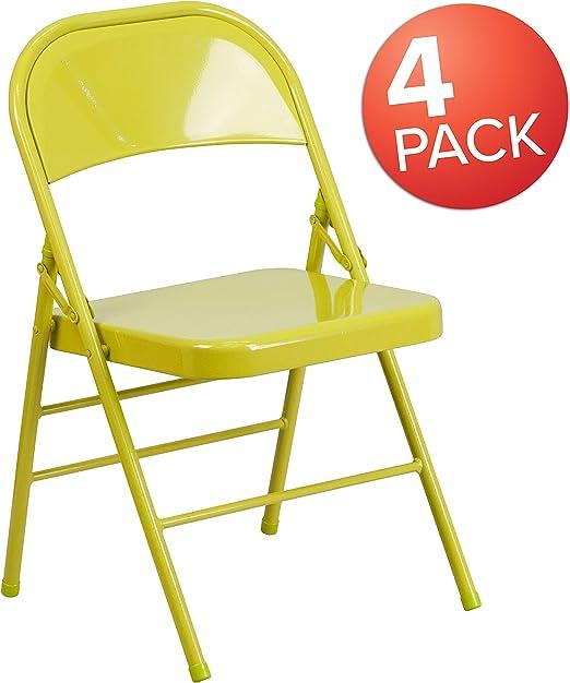 Amazon.com: Flash Furniture Hercules - Silla plegable de ...