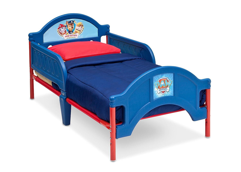 Nick Jr. Plastic Toddler Bed, Paw Patrol Delta Children BB86926PW