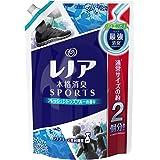 【大容量】 レノア 本格消臭 柔軟剤 スポーツフレッシュシトラスブルー 詰替用 特大サイズ 860ml