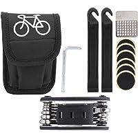 Fietsreparatiegereedschap-Mountainbike Combinatiegereedschapsset Fietsuitrusting Draagbaar fietsbandreparatiegereedschap