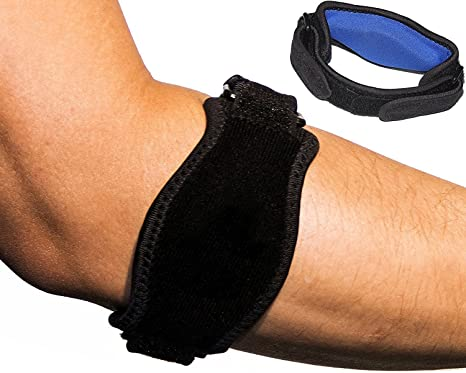 Elbow Support Aptoco Elbow Brace Golf Tennis Elbow Arm Strap Tennis Elbow Support Brace With Neoprene Compression Pad Pain Relief For Tendonitis Tennis And Golfers Elbow One Size Fits Most 2 Packs Amazon Co Uk
