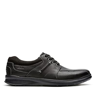 660759e7667 Clarks Cotrell Walk Leather Shoes in Black: Amazon.co.uk: Shoes & Bags