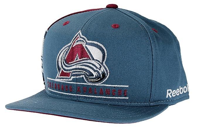 NHL Reebok Retro Colorado Avalanche equipo de Multi Color Gorra ... c8789ce169e