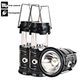 Amazon Price History for:Led Camping Lantern, 3 Pack Rechargeable Solar Lanterns Collapsible, Bright Lamp Outdoor Flashlight Portable for Camp, Power Outages, Emergencies, Hurricanes, Hiking, Fishing, Tent (Black)