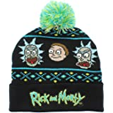 Bioworld Adult Rick and Morty Beanie Black