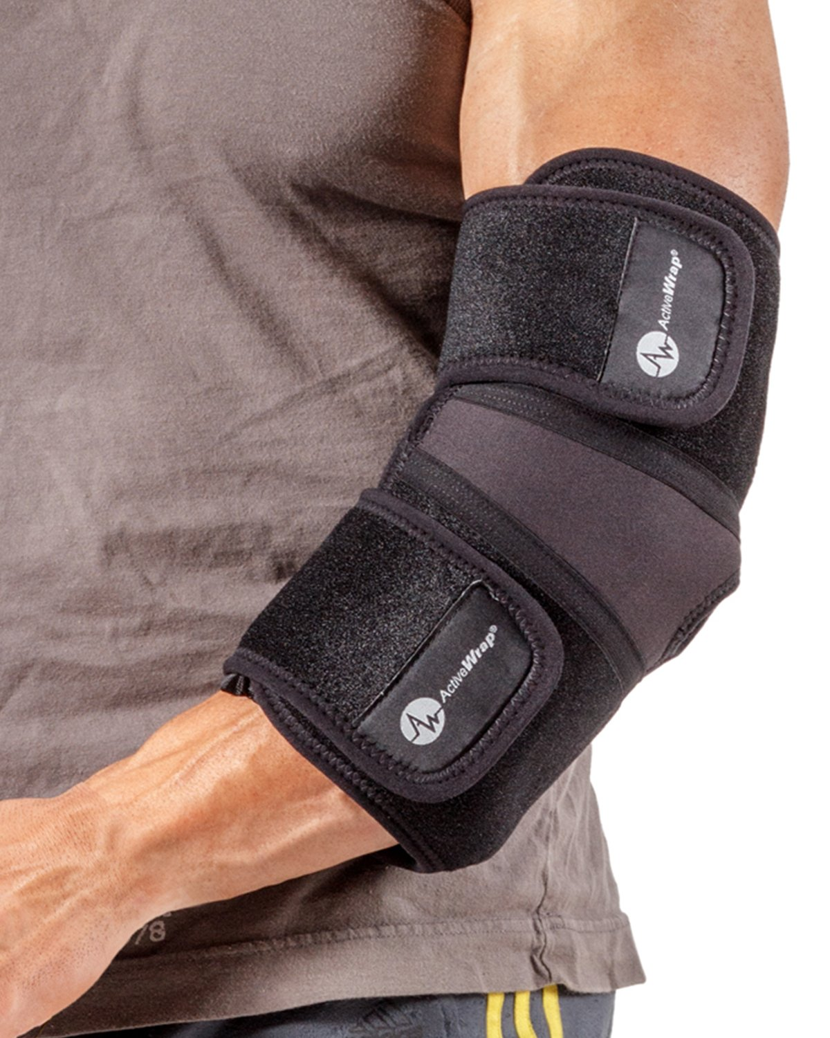 ActiveWrap Elbow Ice Wrap Hot Cold Packs for Tennis Elbow Treatment -X-Large by AW ACTIVEWRAP