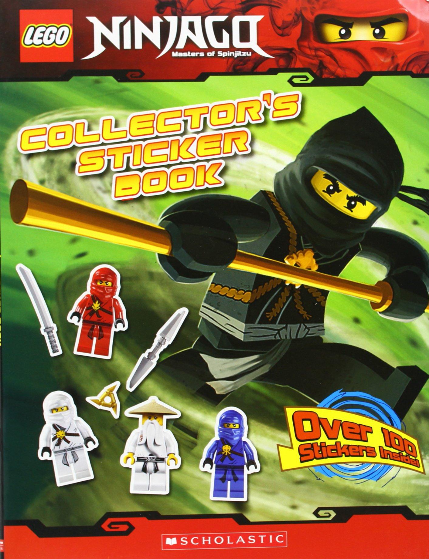 Read Online Collector's Sticker Book (LEGO Ninjago) ebook