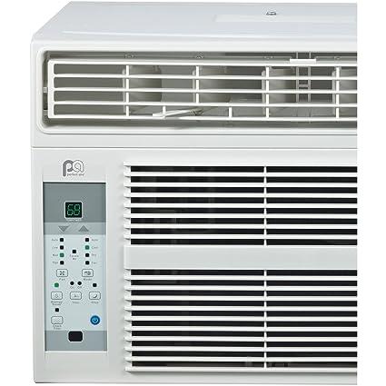 Keystone KSTAW12B 12,000 BTU 115V Window-Mounted Air Conditioner with Follow Me LCD Remote Control
