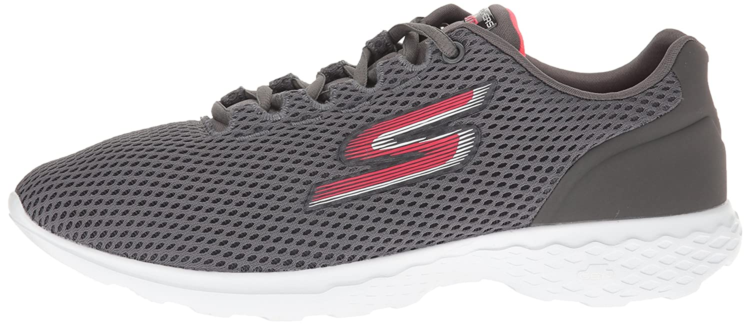 Skechers Skechers Skechers Performance Damen Go Train-Hype Laufschuhe Grau (Charcoal/Pink) a20dad