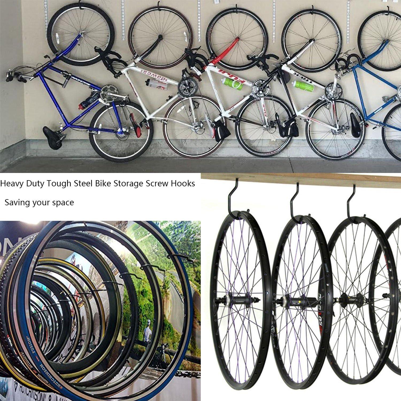 cbtone 8 pcs bicicleta gancho con 8 unidades tornillo conjunta ...