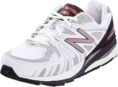 New Balance Women's W1540 Running Shoe,White/Purple,5.5 M US