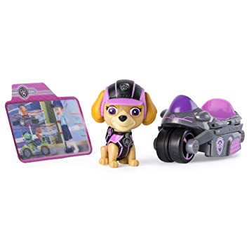 834444a4f79 Buy Paw Patrol Mission Paw - Skye s Cycle - Figure and Vehicle Online at  Low Prices in India - Amazon.in