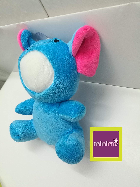 MiniMe M5504 7 inches Blue Elephane 3D Plush Dolls 10 Piece