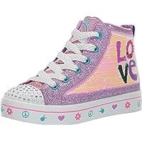 Skechers Unisex-Child TWI-Lites 2.0-Lilac Love Sneaker