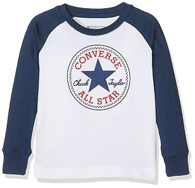 17ed4879cd9e Converse Boy s L S Chuck Patch Raglan Long Sleeve T-Shirt