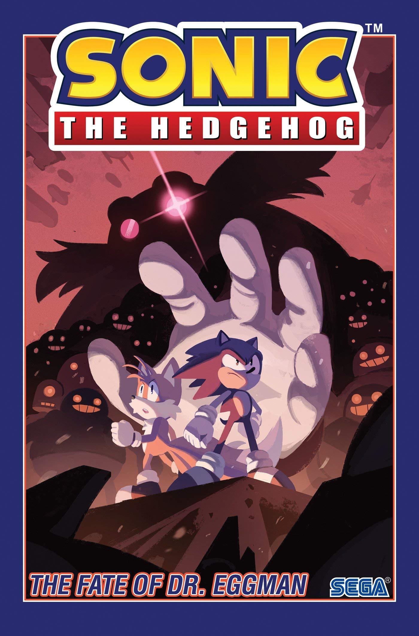 Amazon Com Sonic The Hedgehog Vol 2 The Fate Of Dr Eggman 9781684054060 Flynn Ian Yardley Tracy Thomas Adam Bryce Stanley Evan Books