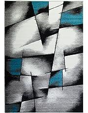 Ladole Rugs Beautiful Boston Collection Empire Geometric Pattern Area Rug Carpet