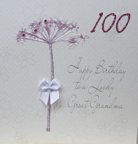 White Cotton Cards Handmade Happy Birthday Card To A Lovely Daughter Dandelio...