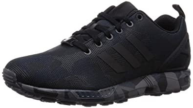 1392be36dae45 adidas Men s Zx Flux Sneakers Black Size  9.5  Amazon.co.uk  Shoes ...
