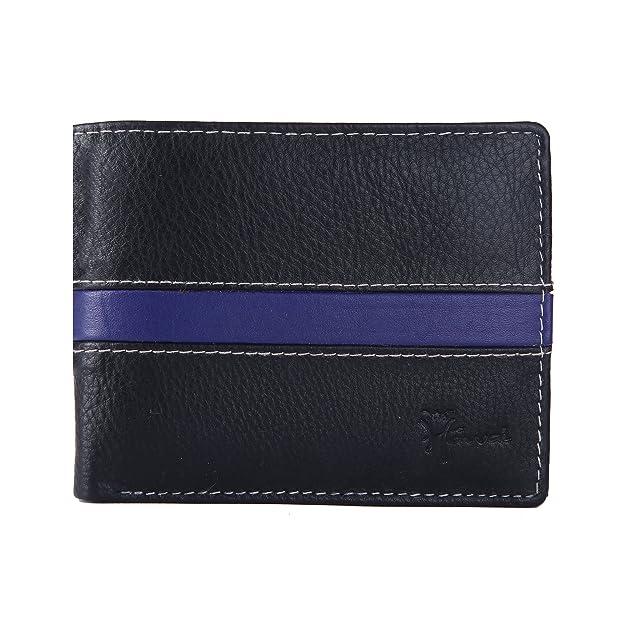 Hawai Men Casual, Formal Black Genuine Leather Wallet  4 Card Slots