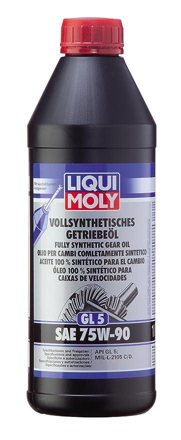 Liqui Moly 1413 GL 5 SAE 75 W-90 Hypoid - Aceite de motor