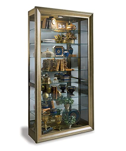 Charmant Museum Vermeer Curio Cabinet, Hand Decorated Antique Gold Finsih: Home U0026  Kitchen