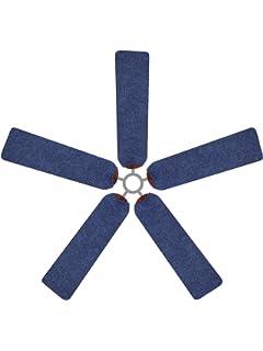 fan blade covers. fan blade designs denim ceiling covers