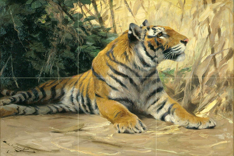spielende tiger