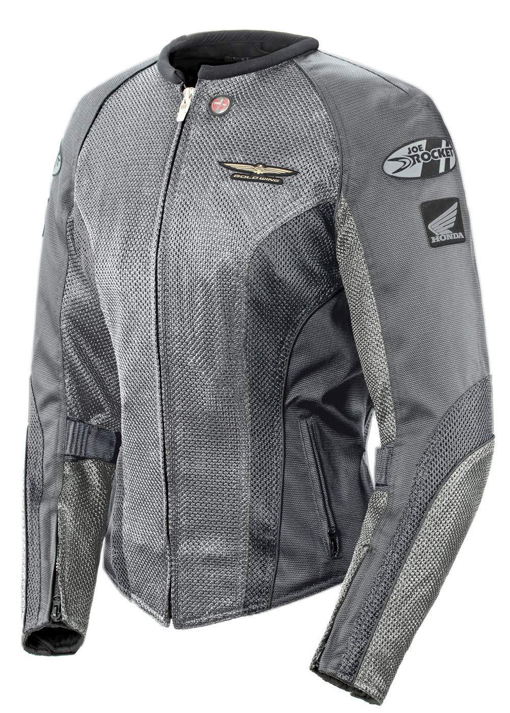 Joe Rocket Skyline 2.0 Womens Black Mesh Motorcycle Jacket - 2X-Large