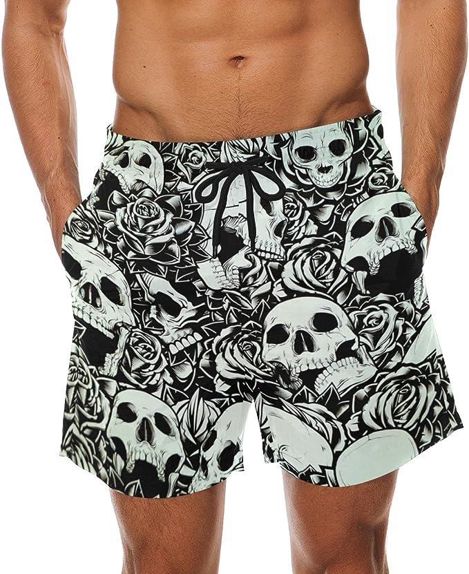 Acheter maillot de bain homme tête de mort online 5