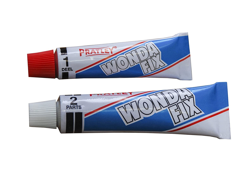 Amazon.com: Pegamento epoxi – 2 piezas de plástico adhesivo ...