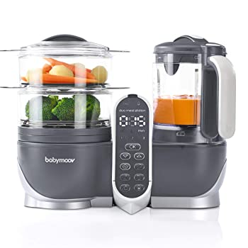 Babymoov A001125 Duo Meal Station 6 in 1 Blender For Baby Food