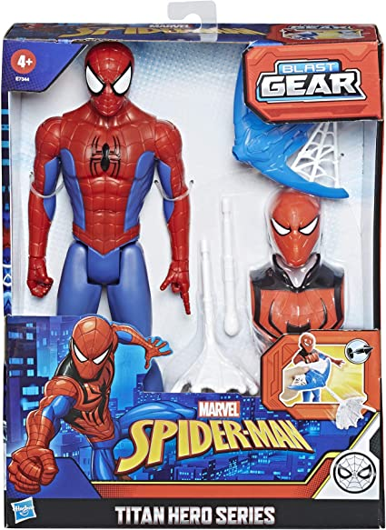 "7/"" Marvel Avengers SpiderMan the Amazing Kid Arachnid Action Figure Toy Gift"
