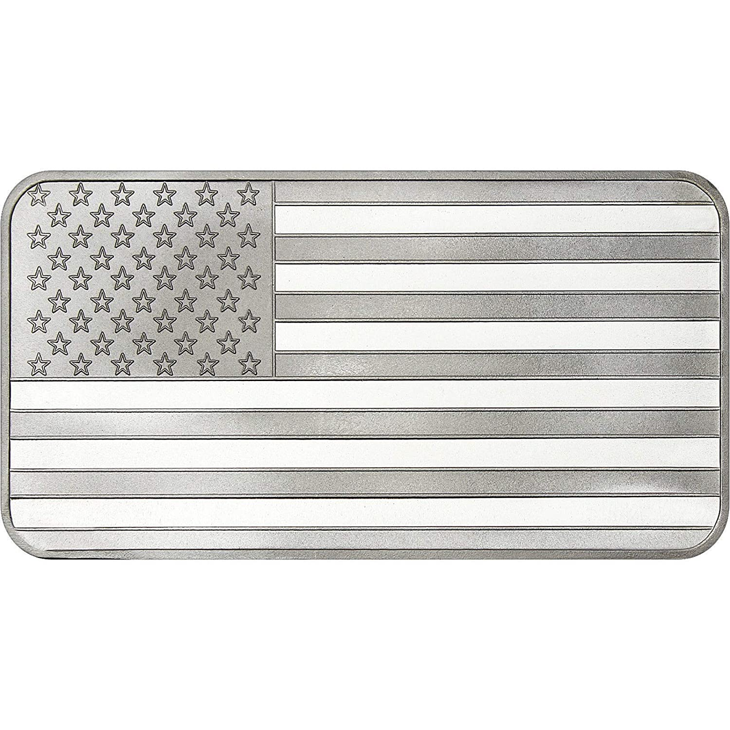 Flag Silver Bullion 1 Ounce .999 Fine Silver Bars Flag Silver Bullion 1 Ounce .999 Fine Silver Bars SILVERTOWNE