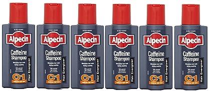 Alpecin cafeína Champú 250 ml – pack de 6