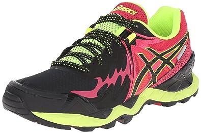 ASICS Women's Gel-Fuji Endurance Running Shoe, Black/Onyx/Azalea, 5