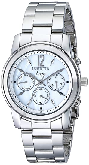 Invicta Women s 0463 Angel Collection Stainless Steel Watch  Invicta ... 9651bdf2704a