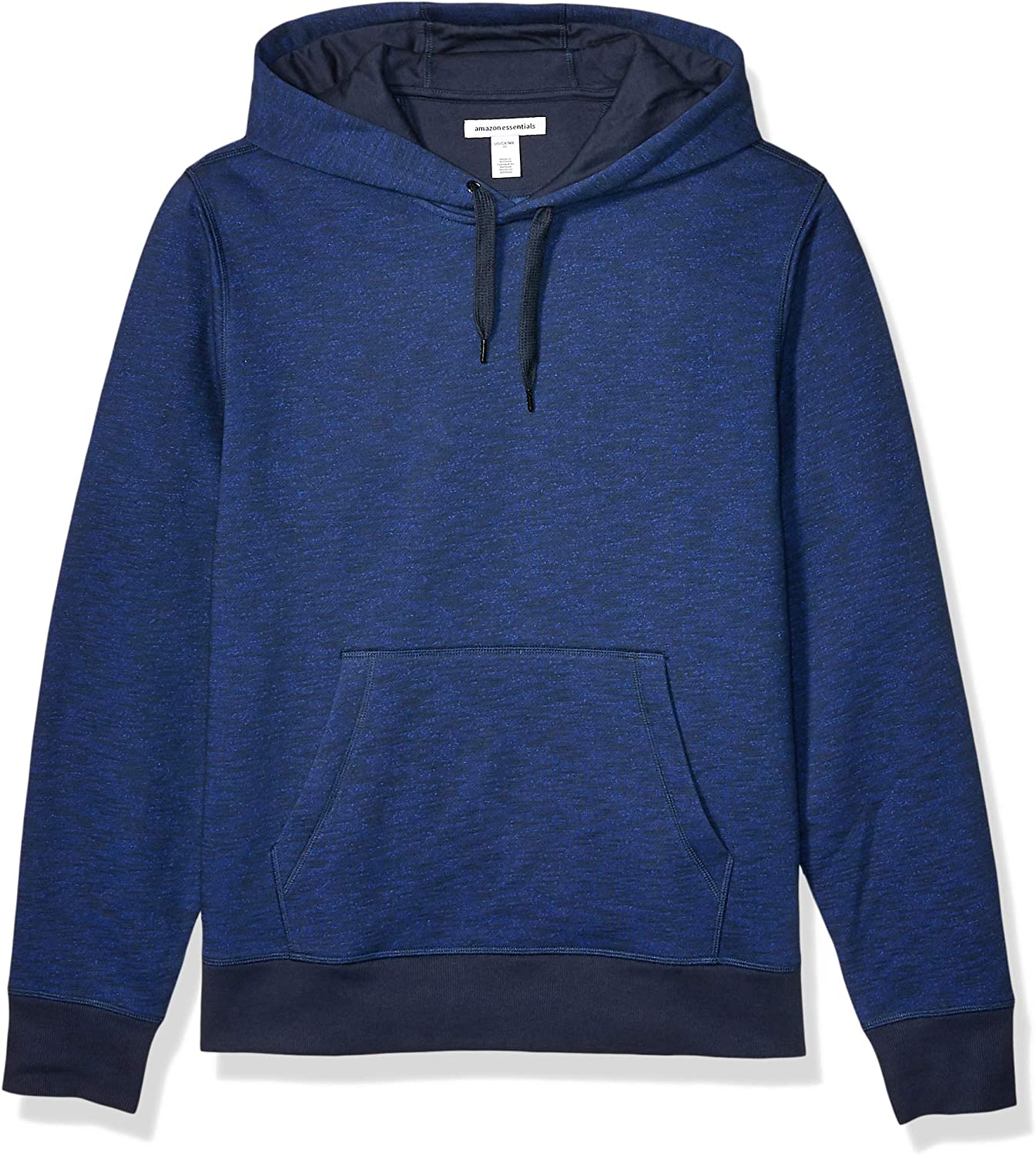 Essentials Mens Hooded Long-Sleeve Fleece Sweatshirt Sweatshirt