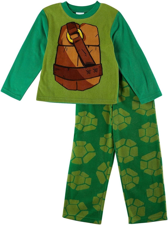 Ninja Turtles Boys Fleece Pajama Set Sizes 4-10