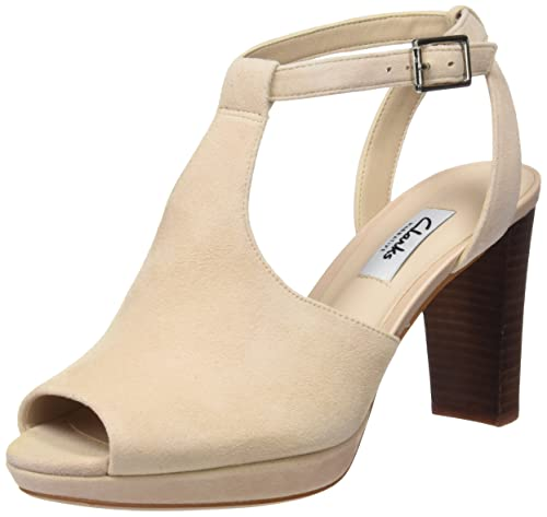 Clarks Women's Kendra Charm Ankle Strap Pumps