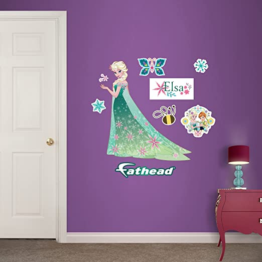 Large Elsa Disney Frozen Removable Wall Stickers Decal Home Decor Kids Art Mural