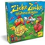 Zoch Zicke Zacke Hühnerkacke Niños Juego de mesa de aprendizaje - Juego de tablero (Juego de mesa de aprendizaje, Niños, 20 min, Niño/niña, 4 año(s), 297 x 72 x 295 mm)