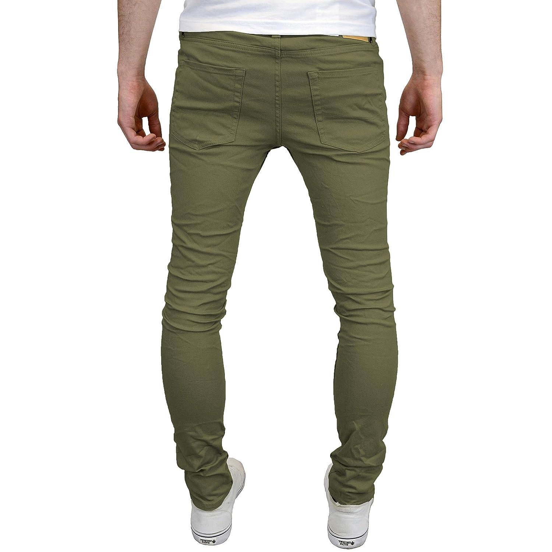 JACK /& JONES/ /Maglietta strappato Skinny Fit Stretch Chinos