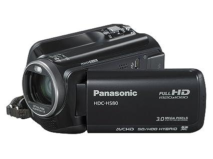 Amazon.com: Panasonic HS80 Videocámara Full HD, color negro ...