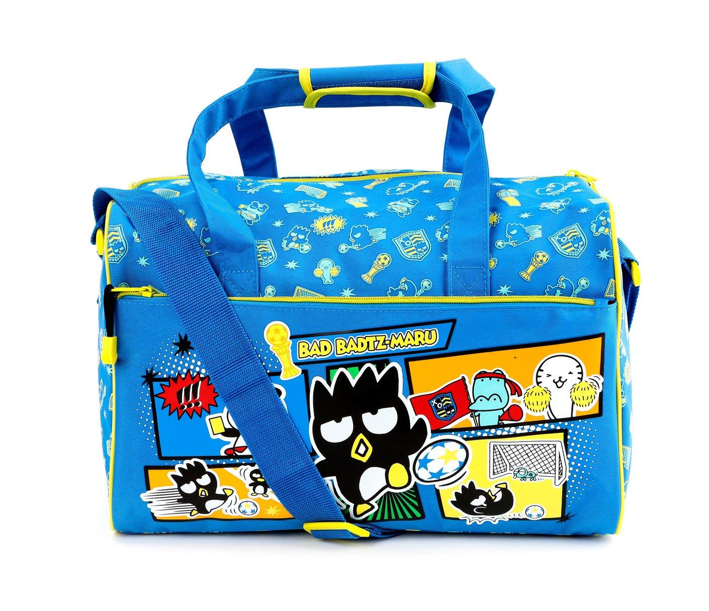 Flight Bag Gym Bag White Cats on Black InterestPrint Large Duffel Bag