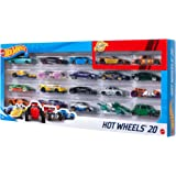 Hot Wheels 20-Car Gift Pack Assorted 116 scale Toy Vehicles Great Gift for Kids and Collectors 3 to 93 years old Instant Coll