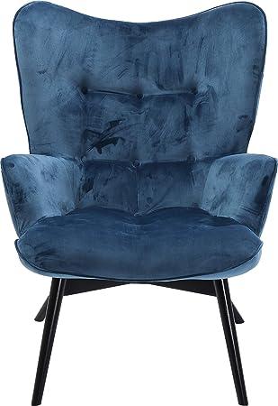 Kare Design Sessel Vicky 82609 Mit Armlehnen Ohrensessel Mit Samt