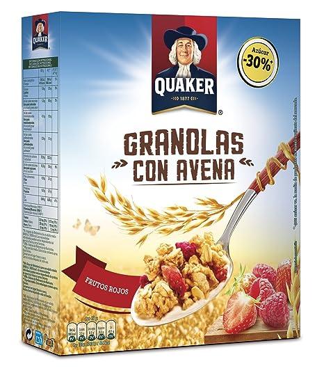 Quaker Granolas con Futos Rojos - 375 g