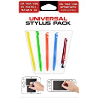 Subsonic Pacco Da 5 Penne Universal Stylus Pack Per Console - Nintendo New 2DS XL/New 3DS XL/3DS/2DS/DS/Nintendo Switch/3DS